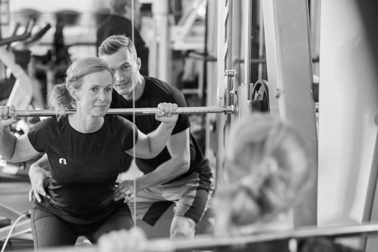 At indenfor fitness og styrke